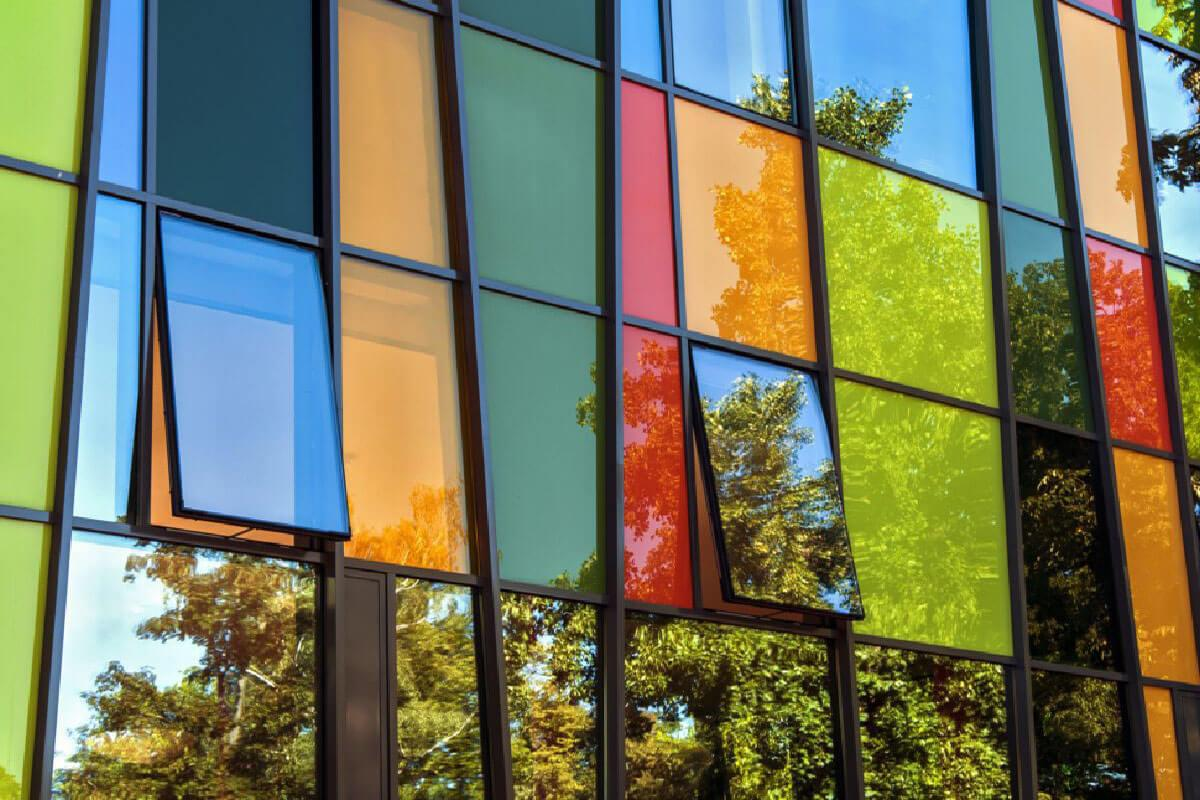 Coloured Aluminium Windows Buckinghamshire